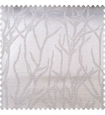 Grey color natural designs texture finished surface sea plants flowing pattern polyester main curtain