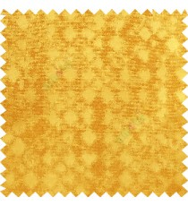 Gold color solid texture finished surface texture gradients geometric dice shapes polyester main curtain