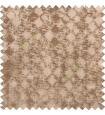 Chocolate brown color solid texture finished surface texture gradients geometric dice shapes polyester main curtain