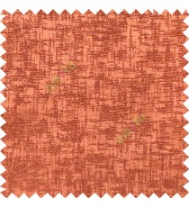 Orange color solid texture finished surface texture gradients horizontal and vertical lines polyester main curtain