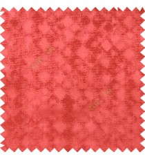 Red color solid texture finished surface texture gradients geometric dice shapes polyester main curtain