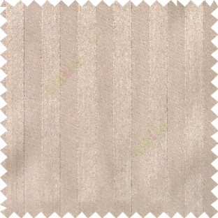 Brown color solid vertical bold straight stripes texture surface with thick background polyester main curtain