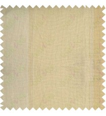 Beige peach stripes sheer cotton curtain designs