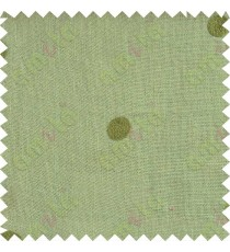 Pista with green polka dots embroidery sheer cotton curtain designs