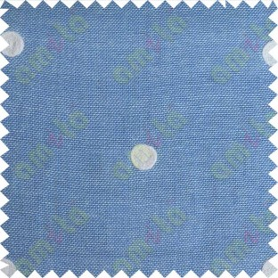 Blue with white polka dots embroidery sheer cotton curtain designs