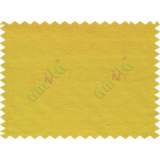 Yellow with square thread dots main cotton curtain designs