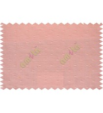 Light pink with square thread dots main cotton curtain designs