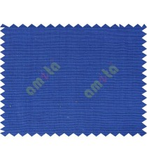 Bright ink blue horizontal line main cotton curtain designs