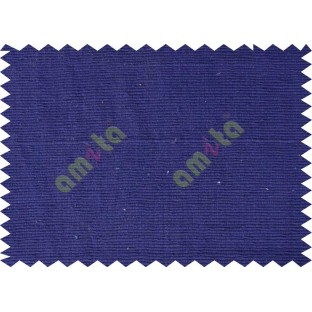 Royal blue horizontal line sofa cotton fabric