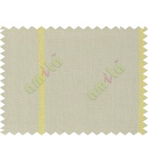 Beige yellow stripes natural texture sofa cotton fabric