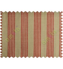 White background with red stripes main cotton curtain designs