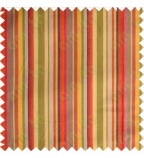 Orange purple yellow red beige blue colourful stripes main cotton curtain designs