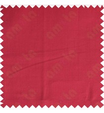 Plain red solid main cotton curtain designs