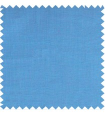 Aqua blue texture solid main cotton curtain designs