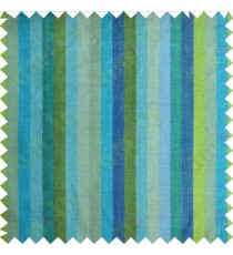 Green aqua blue turquoise stripes main cotton curtain designs