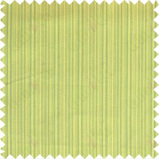 Yellow and green stripes main cotton curtain designs