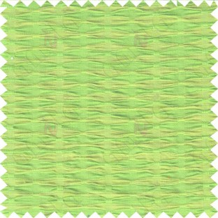 Yellow green pinch diamond pleat cushion cotton fabric