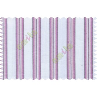 White purple lines main cotton curtain designs