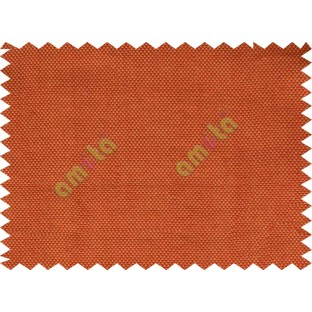 Orange maroon thick texture sofa cotton fabric