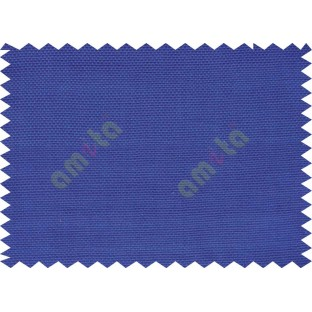 Solid blue self texture thick sofa cotton fabric