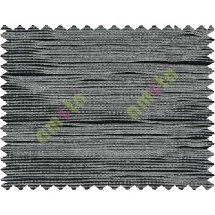 Folded stripes with black and white sofa cotton fabric