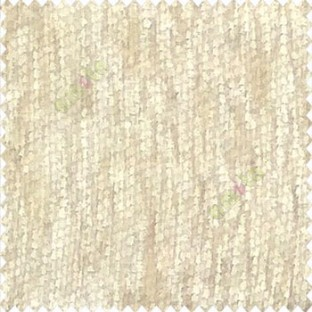 Solid Plain Chenille Beige Texture Stripes Texture Soft Finished Shiny