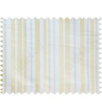 Beige Gold Shiny Candy Stripes Poly Fabric Main Curtain-Designs