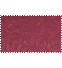 Pure maroon color seamless traditional design with thick background fab polycotton main curtain designs