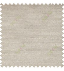 Beige color solid texture thick fab poly main curtain - 112472