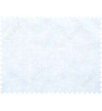 White beige color seamless fine weave checks poly main curtain - 112496