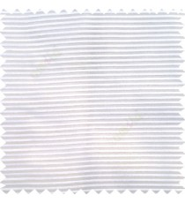 Pure white color horizontal bold and strong stripes on transparent polyester background fabric sheer curtain