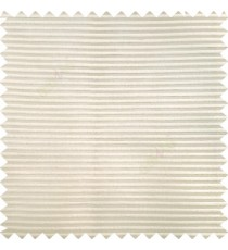 Beige color horizontal bold and strong stripes on transparent polyester background fabric sheer curtain