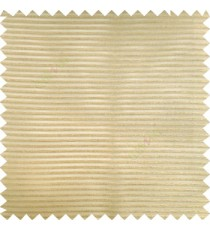 Tawny brown color horizontal bold and strong stripes on transparent polyester background fabric sheer curtain