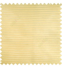 Gold color horizontal bold and strong stripes on transparent polyester background fabric sheer curtain