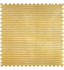 Orange color horizontal bold and strong stripes on transparent polyester background fabric sheer curtain