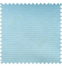 Blue color horizontal bold and strong stripes on transparent polyester background fabric sheer curtain