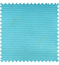 Aquamarine blue color horizontal bold and strong stripes on transparent polyester background fabric sheer curtain