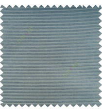 Steel blue color horizontal bold and strong stripes on transparent polyester background fabric sheer curtain