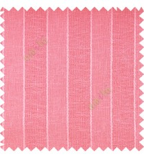 Pink color vertical parallel stripes texture finished with polyester transparent net finished base fabric small texture gradients sheer curtain