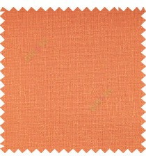 Orange color complete texture surface polyester base fabric texture finished background sheer curtain