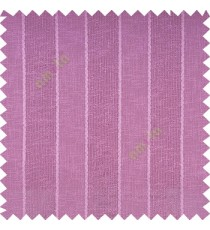 Purple color vertical parallel stripes texture finished with polyester transparent net finished base fabric small texture gradients sheer curtain