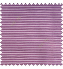 Purple color horizontal bold and strong stripes on transparent polyester background fabric sheer curtain