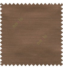 Dark chocolate brown color solid texture horizontal digital texture gradient stripes designless fabric polyester main curtain