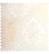 Beige color beautiful traditional damask design texture finished background horizontal lines polyester main curtain fabric