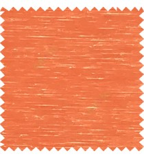 Orange color solid plain designless surface transparent horizontal lines see through net polyester sheer curtain fabric