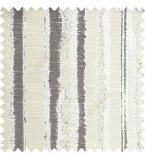 Cream color vertical texture lines horizontal coloured stripes polyester main curtain fabric