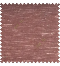 Dark brown color solid plain designless surface transparent horizontal lines see through net polyester sheer curtain fabric