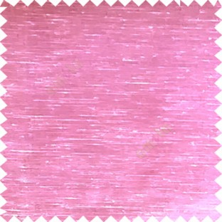 Baby pink color solid plain designless surface transparent horizontal lines see through net polyester sheer curtain fabric