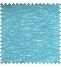 Blue color solid plain designless surface transparent horizontal lines see through net polyester sheer curtain fabric
