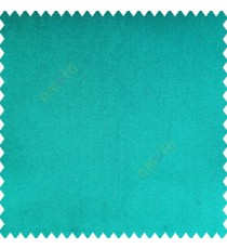 Aqua blue color complete plain velvet finished soft touch surface polyester base sofa fabric